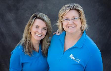 Kim Peterson and Shelly Erger, Owners of Caring Transitions of Cedar Rapids and Iowa City